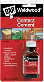 Dap 00102 12 Pack 1 oz. Welwood Contact Cement, Tan