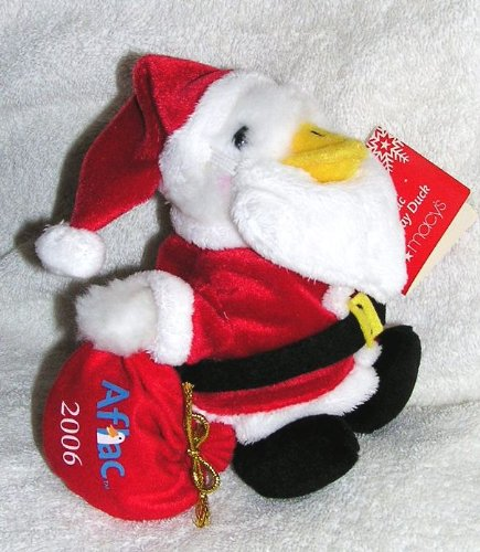 2006-christmas-plush-6-talking-aflac-holiday-duck-as-santa-claus-from-macys
