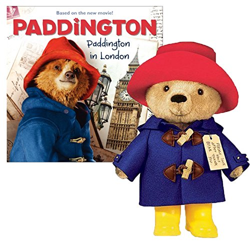 Teddy Bear 10 Paddington Teddy Bear with Paddington in London Book by YOTTOY - Paddington Bear Teddy