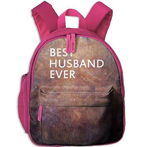Funny Sunshine Best Husband Cute Children's Shoulder Bag School Bags