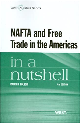 Book NAFTA and Free Trade in the Americas in a Nutshell, 4th (In a Nutshell (West Publishing))