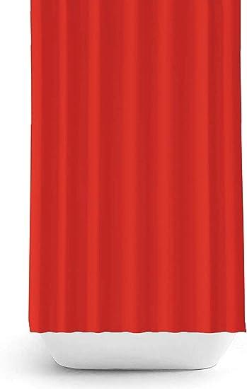 Grigio, 180x200 cm Zethome Tenda da Doccia Tessuto Originale di Alta qualit/à Poliestere Antibatterico Anti Muffa Impermeabile Repellente Lavabile Design Moderno Elegante alla Moda con Ganci