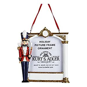 Nutcracker Soldier Picture Frame Ornament