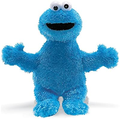 Gund Mens Cookie Monster Plush Animal