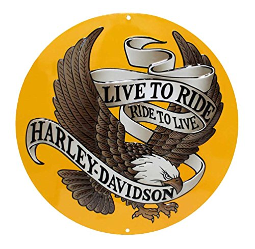 Harley-Davidson® Live To Ride Metal Sign