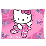 20*30 Cushion Case, Cute Hello Kitty Custom Zippered Standard Size Pillowcase 20*30(two sides)