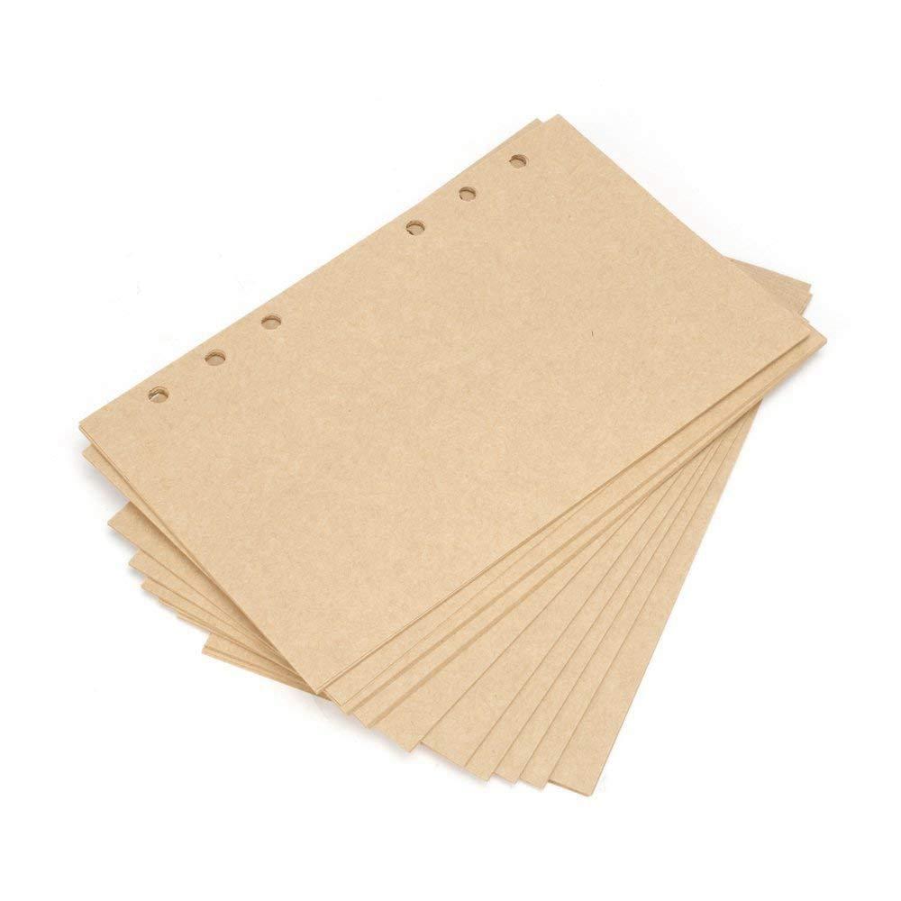 Semoic Carta Artigianale Riutilizzabile Perfect Premium Pu Leather Diario Classico Con Diario di Viaggio in Rilievo