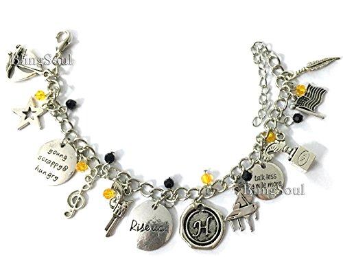 Broadway Musical Hamilton Jewelry - Alexander Charm Bracelet Rise up Friendship Gifts - American Lin-Manuel Miranda Chain Bangle Kids Boys Girls Costumes by BlingSoul (Image #3)