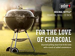 Weber 741001 Original Kettle 22-Inch Charcoal Grill from Weber