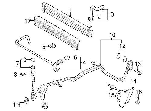 Ford CL3Z-7R081-A, Auto Trans Oil Cooler Hose