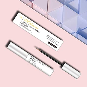 dccb24d3ce6 Maksuzee Eyelash Growth Serum(5ml) Pure Natural Formula Promote  Eyelash&Brow Growth Become Longer Thicker