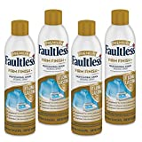 Faultless Starch Spray for Clothes – Premium Firm Finish (20oz 4 Pack) Professional Iron Spray Starch for Clothes & Fabric – No Stick Iron Spray, No Flaking or Clogging