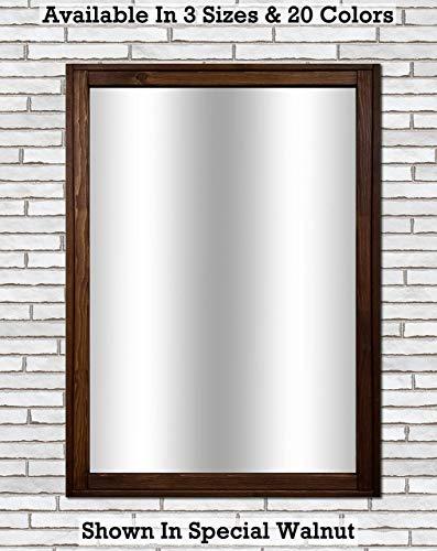 Sydney Rustic Mirror - Vanity Mirror, Bathroom Mirror, Farmhouse Decor, Wood Mirror, - Sydney Mirrors Custom Bathroom