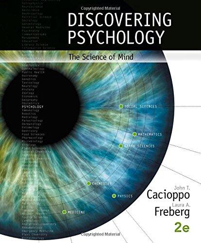 Discovering Psychology: The Science of Mind [John Cacioppo - Laura Freberg] (Tapa Dura)