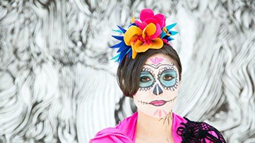Dia de los Muertos Face Paint