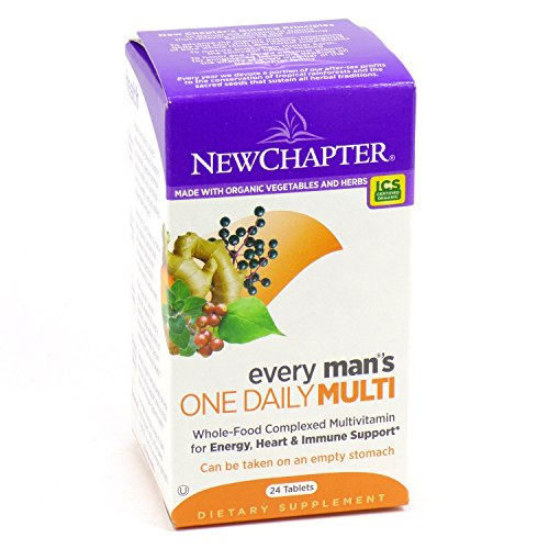 New Chapter Every Man's One Daily 24 tabs ( Multi-Pack)