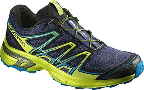 Salomon Wings Flyte 2, Zapatillas de Running para Asfalto para Hombre Azul (Blue Depths/lime Green/hawaiian Sur)