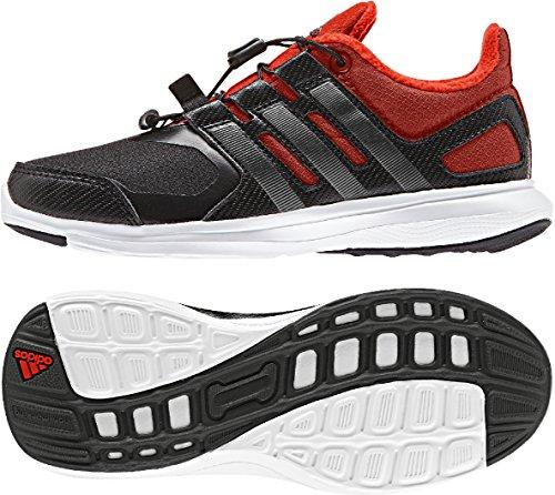 adidas Winterfast SL K - Zapatillas para niño Negro / Gris / Naranja