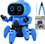 UNIROI Robot Toy for Kids, DIY Assembly Smart Robot Kids Gift with 6