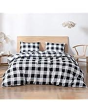 Argstar Duvet Cover Set, Microfiber Bedding Sets, Pillow Cases & Duvet Cover, 2 Pcs Twin, 3 Pcs Queen, 3 Pcs King