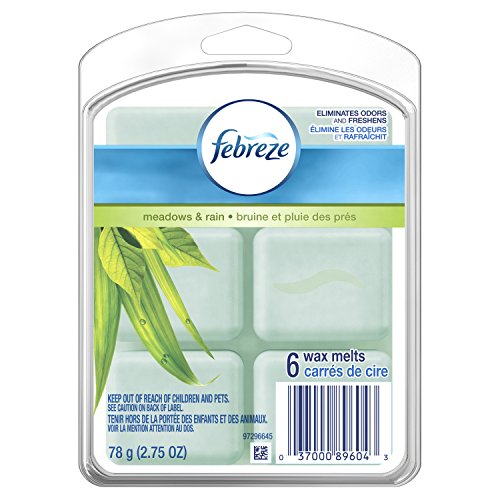 Febreze Wax Melts Air Freshener, Meadows & Rain (Pack of 8) by Febreze (Image #6)
