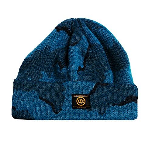 de Unisex Hat Pom Diferentes Teal 10 Deep Beanie invierno Accesorios Camo Sombreros wTRx8Cq