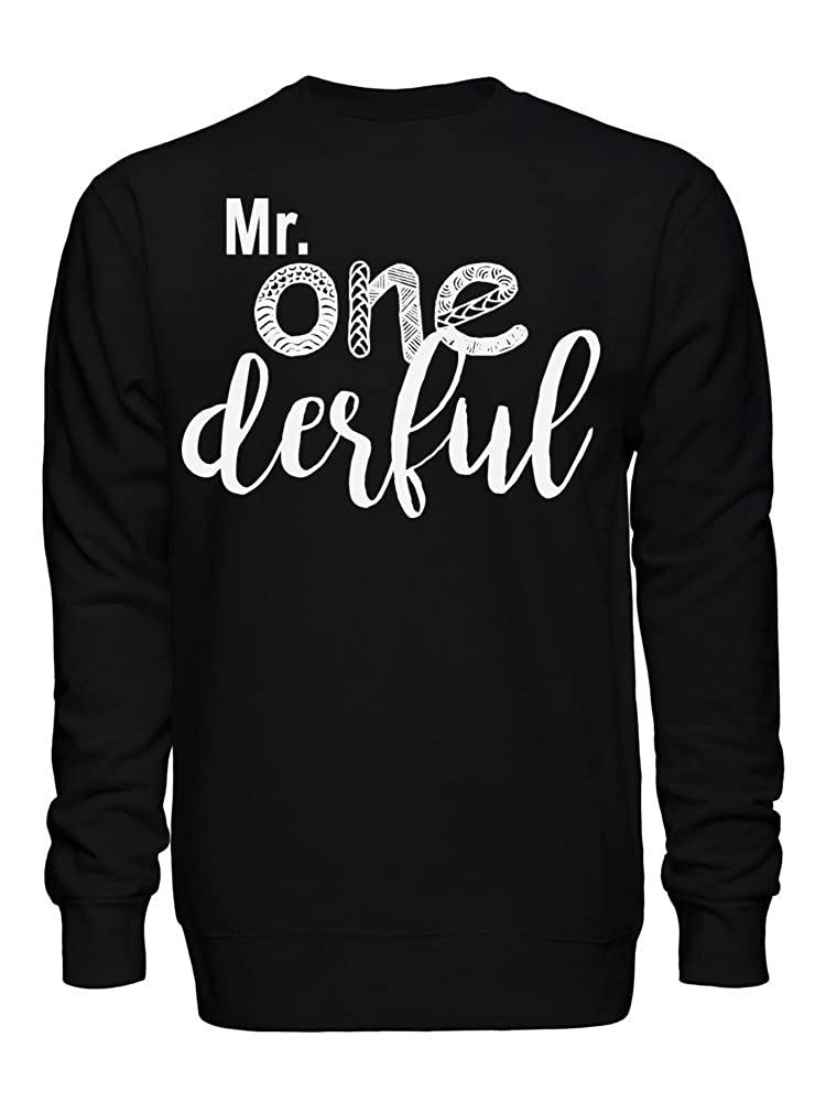 Mr. One Derful Wonderful Unique Pun Funny Sudadera Unisex XX-Large: Amazon.es: Ropa y accesorios