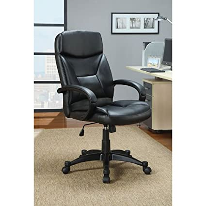 Coaster 800204 Contemporary Office Chair, Black