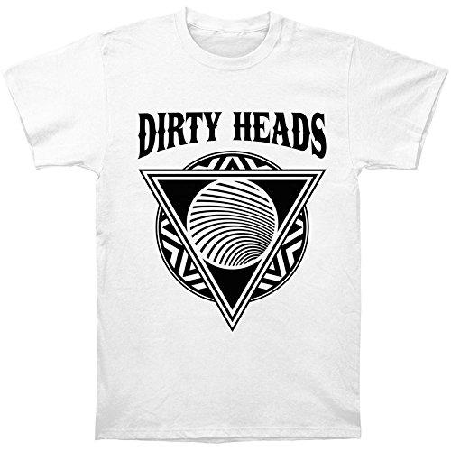 Dirty Heads Men's Burial Slim Fit T-shirt White