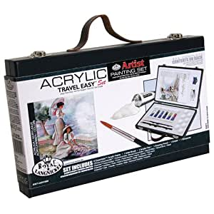Royal & Langnickel Acrylic Painting Travel Easy Art Set