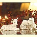 Belleek Holiday Collection Manger Set