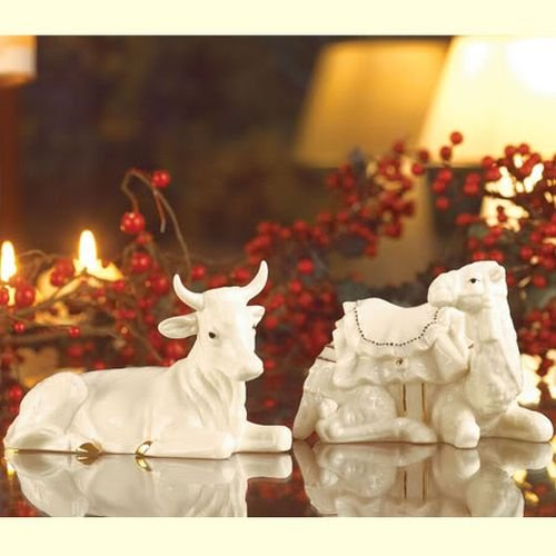 Belleek Holiday Collection Manger Set by Belleek