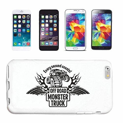 "cas de téléphone iPhone 7S ""OFF ROAD 4X4 MONSTER TRUCK 4 × 4 LANDROVER BUGGY AUTOCROSS Stockcar RACE"" Hard Case Cover Téléphone Covers Smart Cover pour Apple iPhone en blanc"