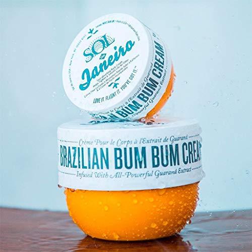 Sol de Janeiro Bum Bum Cream, Includes a full size (240ml) and a travel size (75ml) Brazilian Bum Bum Cream. - Bundle 2 pack by Sol de Janeiro (Image #1)