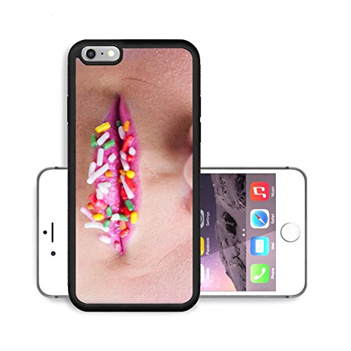 Liili Premium Apple iPhone 6 Plus iPhone 6S Plus Aluminum Backplate Bumper Snap Case IMAGE ID: 20111279 Fashion Beauty Beautiful Woman With hairsyle and Luxury Makeup isolated on white background in s