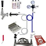 Kegco Ultimate Door Mount Kegerator Keg Home Brew Conversion Kit Ball Lock - EBUCK-BLCP-NT