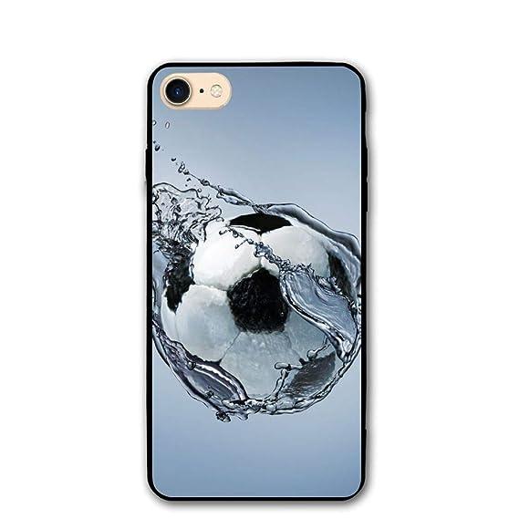 e4bddab10ac5a Amazon.com: Apple iPhone 8 Case, Apple iPhone 7 Case,Football iPhone ...