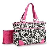Carter's Fashion Tote Bag, Zebra Print, Baby & Kids Zone