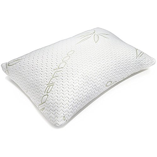 Hotel-Comfort-Bamboo-Covered-Memory-Foam-Pillow-Queen