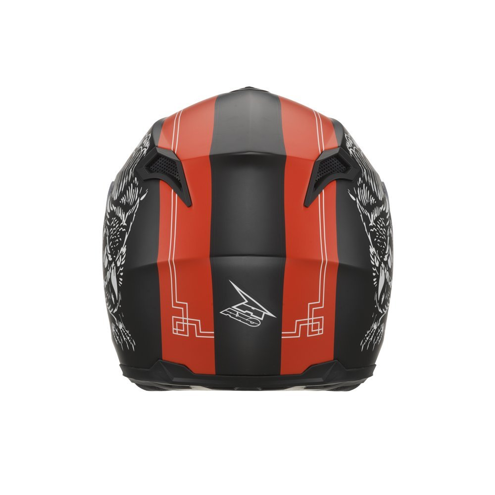 AXO Casco Corsair con Pinlock, Negro/Rojo/Blanco, talla L: Amazon.es: Coche y moto