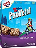 CLIF KID ZBAR – Protein Snack Bar – Chocolate Chip (1.27 Ounce Bar, 10 Count) (packaging may vary) For Sale