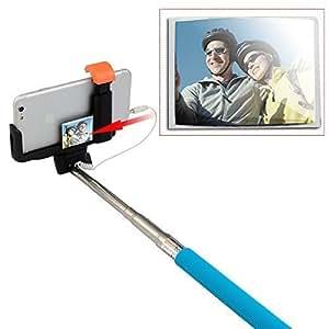 agptek selfie stick with built in remote shutter with adjustable. Black Bedroom Furniture Sets. Home Design Ideas