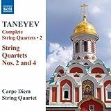 Taneyev: String Quartets Nos. 2 & 4