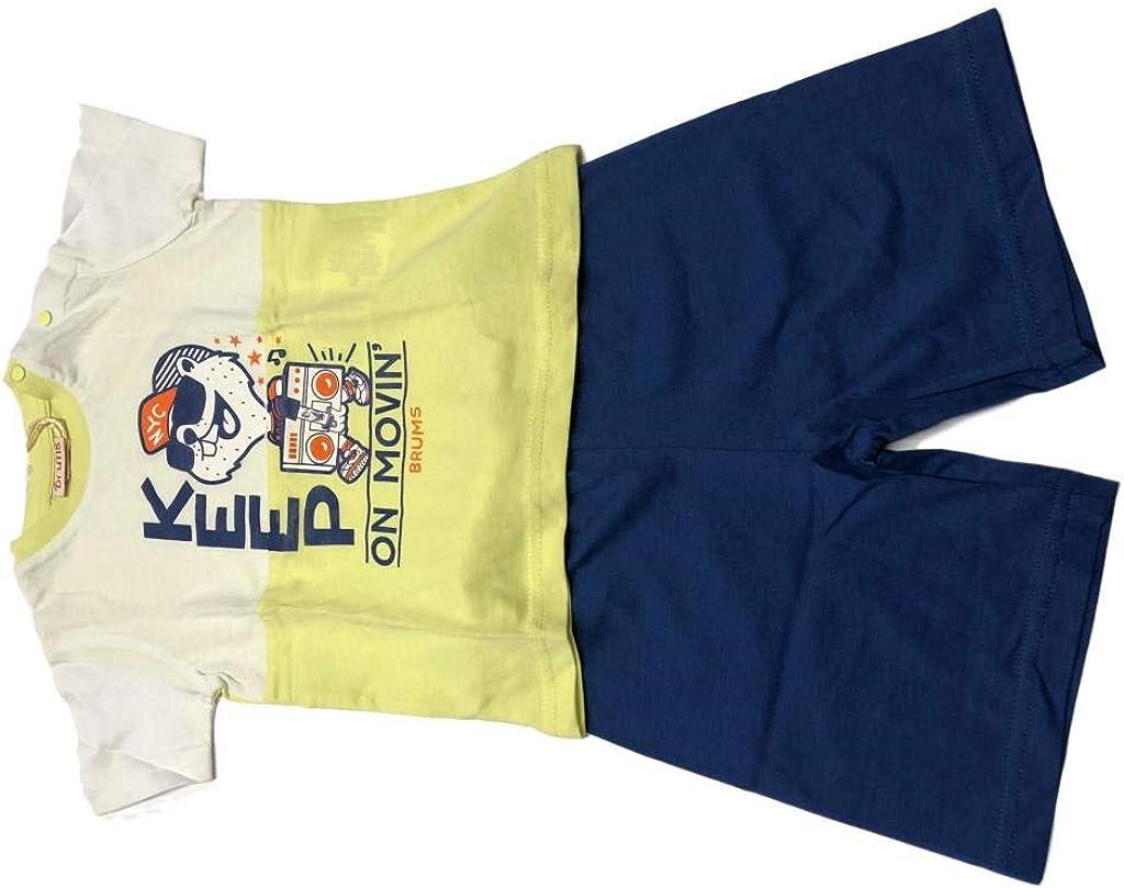 Brums Completo T-Shirt Modello da Bambino Bermuda C.T
