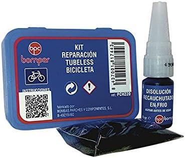 Bompar Componentes–Kit de reconstrucción de Cubiertas sin cámara de Bicicleta