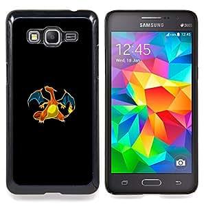 - Charizard P0Kemon - - Cubierta del caso de impacto con el patr??n Art Designs FOR Samsung Galaxy Grand Prime G530H G5308 Queen Pattern