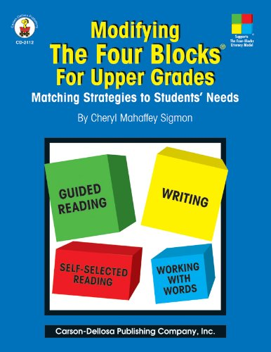 Literacy Block - Modifying the Four Blocks for Upper Grades:  Matching Strategies to Students' Needs