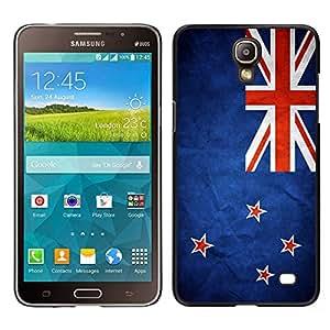 LECELL--Funda protectora / Cubierta / Piel For Samsung Galaxy Mega 2 -- Nación Bandera Nacional País Nueva Zelanda --