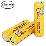 Best 18650 Batteries - M&A BD 2PCS with Battery Organizer IMREN 3000mAh Review