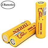 M&A BD 2PCS with Battery Organizer IMREN 3000mAh 40A High Drain Lithium-ion Battery